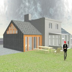 Sustainable timber extension.