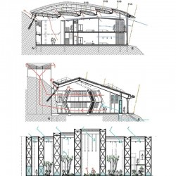 Bioclimatic designed building.