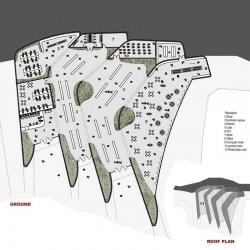 Modern museum design.