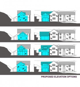 Proposed elevation Options