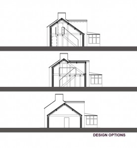 Design options sections
