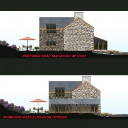 Bespoke design welsh cottage conversion.