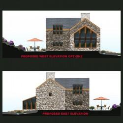 Remodelled welsh cottage.