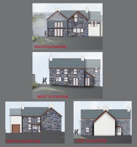 Elevations option 1
