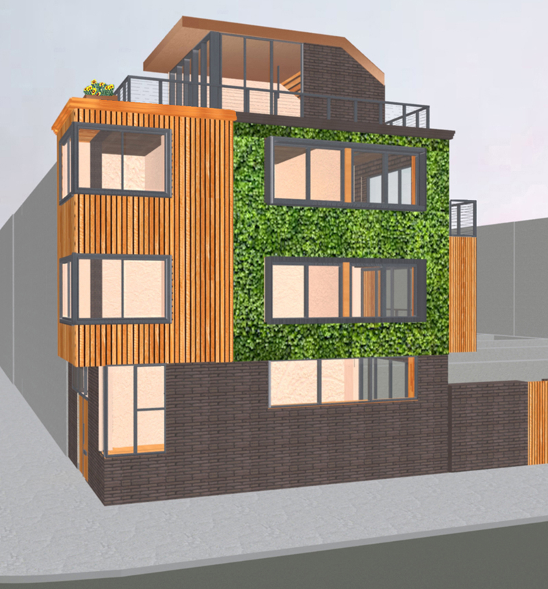 2_Site-view-showing-living-wall