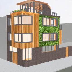 modern townhouse