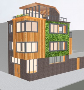 Option:- Green living wall