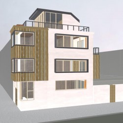 Option:-Side view Lime render